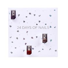 Pin for Later: Start the Countdown to Christmas With a Beauty Advent Calendar Topshop 24 Days of Nails
