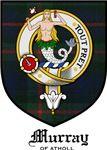 Murray of Athol Clan Crest Tartan