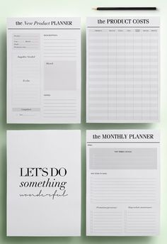 Wedding planner printable wedding planner book printable planning small business planner printable etsy business planner pack 31 a4 a5 organizer pages including expense tracker instant download pdf solutioingenieria Image collections