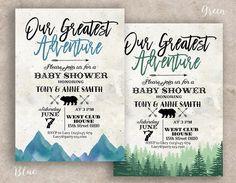 afb6f85da greatest adventure baby shower invitation, greatest adventure party  invitation, You Are Our Greatest