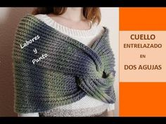 Source by cairolsnavarret tejidos a dos agujas Crochet Poncho, Cowl, Knitted Hats, Knitwear, Pullover, Clothes For Women, Knitting, Sweaters, Youtube