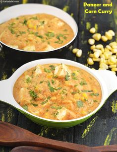 ******Paneer and Corn Curry