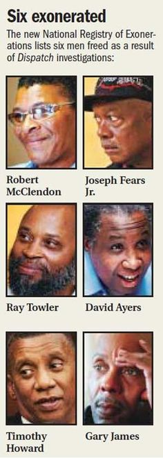 More than people falsely convicted of serious crimes ranging from murder to child sex offenses have been exonerated in the U. Innocence Project, Innocent People, Social Awareness, Investigations, Columbus Dispatch, American, Joseph, Jr
