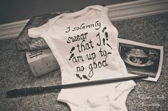 The Burgess family announcement! A Harry Potter themed ...