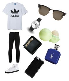 """pls I want group pls follow and like pls messages and share❤ this is the menś"" by nada-alzaabi ❤ liked on Polyvore featuring adidas, Hilfiger Denim, Puma, KENNY, Dopp, Maison Margiela, Tom Ford, Eos, Ralph Lauren and men's fashion"