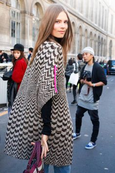Paris Street Style 2012 - Paris Fashion Week Spring 2013 Style - ELLE#slide-1#slide-2#slide-43