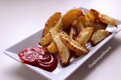 The Perfect Healthy Potato Wedges