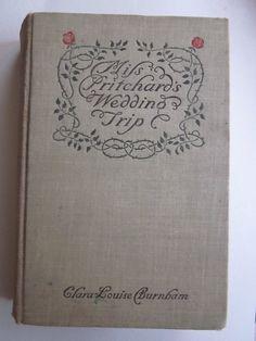 Vintage Book Novel Miss Pritchard's Wedding Trip by JoysinStitches, $8.00