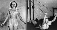 Podívejte se na utajované fotografie prvorepublikové krásky Lídy Baarové! Bikinis, Swimwear, Celebrity, Actresses, Stars, Retro, Film, Lady, 1930s