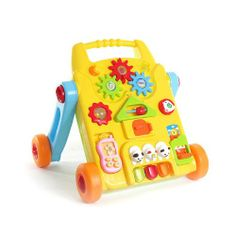 Baby's First Friend Musical Walker - Click image twice for more info - see a larger selection of  baby walker  at  http://zbabybaby.com/category/baby-categories/baby-activity-gear/baby-walker/   -  gift ideas, baby , baby shower gift ideas, toddler .  « zBabyBaby.com