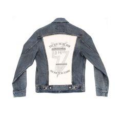 Levi's x James Murphy - White Trucker Jacket