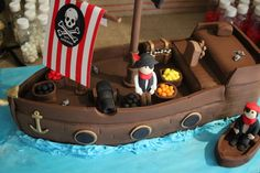 Catering Ideas for Pirate Theme - Birthday Cake!