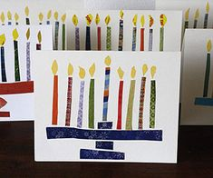 I'm not Jewish, but I love teaching about all Holidays-this is on our TO DO LIST!!! Festive & Fun Hanukkah Crafts & Recipes: Hanukkah Greetings (via Parents.com)