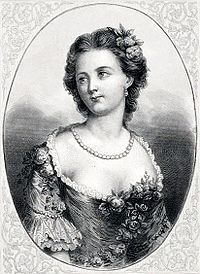 Marie Anne de Cupis de Camargo sometimes known simply as La Gorda Camargo, was a French/Belgian dancer. The first woman to execute the entrechat quatre, Camargo was also responsible for two innovations in ballet as she was the first dancer to wear slippers instead of heeled shoes, and she was the first female to wear the short calf-length ballet skirt and the now standardized ballet tights.