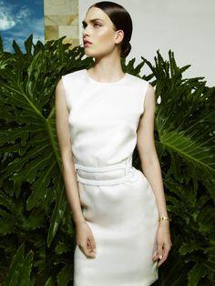 Maria Palm by Katerina Tsatsanis (Light Blick - Elle Germany February 2013)