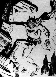 Batman Concept Sketch