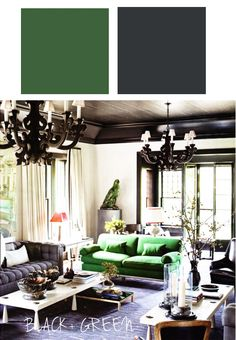 34 Black White And Green Ideas Home Decor Home Interior