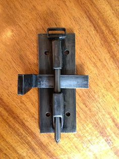 Alisha Sullivan, Custom barn door hardware- Lock