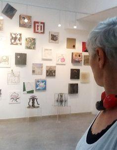 """Adolfina de Stefani ed il muro """"La corrispondenza del tutto"""" - 3D Gallery, Venice"""