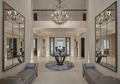 building Entrance Hall area Foyer Lobby with elevator interior design . Luxury Interior, Home Interior Design, Interior Decorating, Luxury Furniture, Contemporary Interior, Contemporary Style, Mansion Interior, Classic Interior, Interior Designing