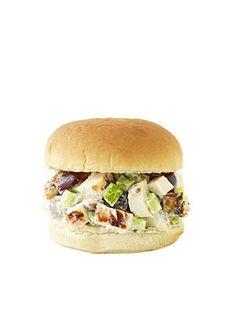 Grilled Chicken Salad Sandwich #backtoschool