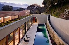 contemporary pool A Landscape for Living