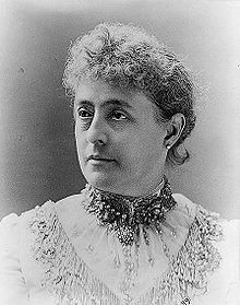 #24 Caroline Lavinia Scott Harrison(October 1,1832-October 25,1892)wife of Benjamin Harrison,was first lady of the US from 1889 until her death.It was in Cincinnati that young Caroline met one of her father's students, Benjamin Harrison.Married on October 20, 1853.Mrs. Harrison was noted for her elegant White House receptions and dinners.In late 1891,however,she began to battle tuberculosis,They had a son and a daughter