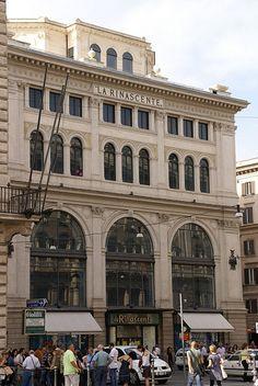 Rom, Via del Corso, Kaufhaus La Rinascente (Department store La Rinascente)