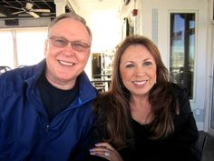Maryann and I at Micky Fins in OC MD - 5/4/2013.