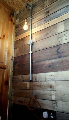 Long industriel Pipe lampe rétro Steampunk par BurnellandJones