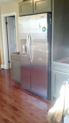 Kitchen Cabinets Around Fridge cabinets around refrigerator. | kitchen | pinterest | refrigerator
