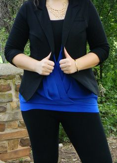 Friends of Fashion: Confident, Plus Size blogger Tiffany Marie!   theprettyplus.com