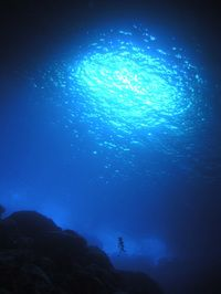 Saipan, Grotto  - well known scuba diving spot. Got to learn how to scuba dive first!