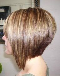 stacked inverted bob with dark on bottom - Google Search