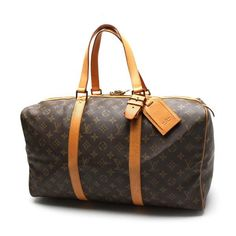 Louis Vuitton Sac Souple 45 Monogram Luggage Brown Canvas M41624