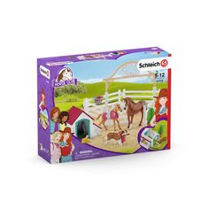 Schleich Horse Club Hannah's Guest Horses with Ruby The Dog Play Set Appaloosa, Breeds Of Cows, Dogs Online, Horses And Dogs, Educational Toys, Fun Facts, Club, Children, Peace