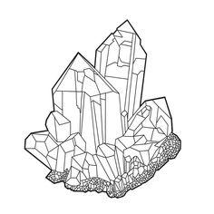 The last one in the set of 4! Geometric Crystal Line art  . . . #lineart #tattooidea #crystal #crystals #crystaltattoo #tattoodesign #digitalart #ipadpro #ipadproart #applepencil #procreate #procreateapp #bohochic #moonchild #colorme #coloring #adultcoloring #coloringforadults #coloringpage #zen #meditation #crystallove #crystallover