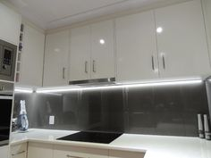 Good kitchen under cabinet lighting led and in blue and purple the whats the use of led tape led kitchen lightinghome aloadofball Gallery