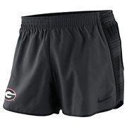 Georgia Bulldogs Nike Women's Warp Pacer Performance Shorts – Anthracite