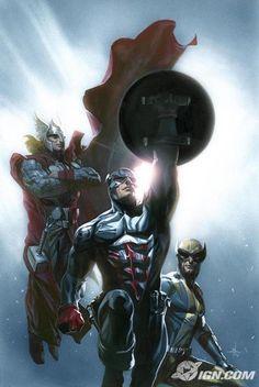 captain america and friends - marvel-comics