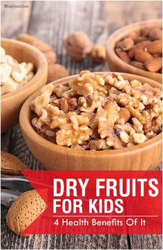 4 Amazing Health Benefits Of Dry Fruits For Kids: Want to know more about the goodness of dry fruits? Simply go ahead and give this post a read.