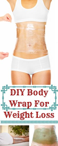 DIY Body Wrap For Weight Loss-If you're looking to loose a couple of inches before a big event or you want a more toned stomach, a DIY body wrap is just the thing you're looking for! Body wraps are usually done at salons, but t…