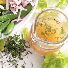 Lemon-Basil Vinaigrette - Toss any of these salads or your favorite mixed greens with this go-to vinaigrette. Omit the teaspoon of sugar (or use xylitol, for Phase 3).