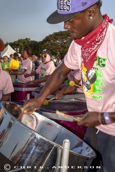 Steel Pan players at Trinidad Carnival 2014 from www.caribbeanphotoart.com
