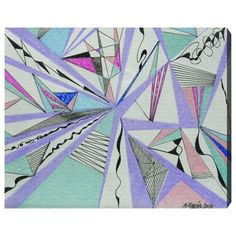"""Brayden Studio Musica Painting Print on Wrapped Canvas Size: 16"""" H x 20"""" W x 1.5"""" D"""