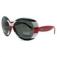 76b66955eea9 Dolce & Gabbana red, white and blue sunglasses Blue Sunglasses, Ray Ban  Sunglasses,