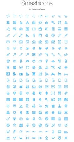 Free Download : 200 Webby Icons (AI, Sketch)