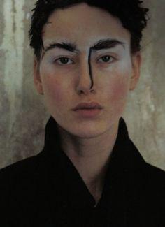 Comme des Garçons in Vogue Italia, October 2000