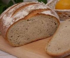 Chleb pszenny na zakwasie żytnim My Favorite Food, Favorite Recipes, Our Daily Bread, Bigbang, Bakery, Food And Drink, Homemade, Cooking