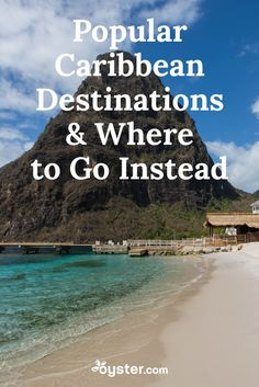 While certain islands like the Dominican Republic are popular for good reason, we wondered if more discreet Caribbean destinations might offer similar features and fewer tourist crowds. With that in mind, we reached out to Margie Hand, a travel advisor and Caribbean specialist at Andavo Travel. Keep reading for her tips on five popular Caribbean destinations and where to go instead, especially if you want to escape the hordes.
